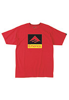 EMERICA Kids Combo 10 S/S T-Shirt red/yellow