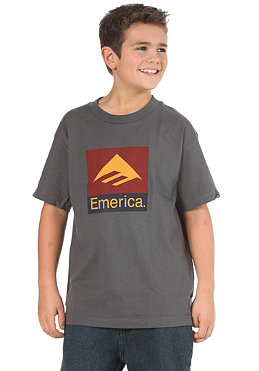 EMERICA KIDS/ Combo 10 S/S T-Shirt charcoal