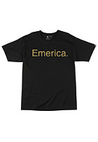 EMERICA Kids Pure 12 S/S T-Shirt black/gold