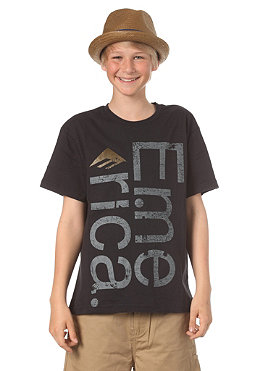 EMERICA KIDS/ Sideways S/S T-Shirt black/grey