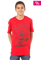 EMERICA KIDS/ Skate Rat Rod S/S T-Shirt red
