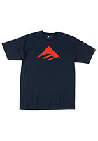EMERICA Kids Triangle 7.0 S/S T-Shirt navy
