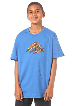 EMERICA KIDS/ Up In Flames S/S T-Shirt blue