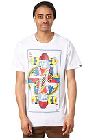 EMERICA King of Hearts S/S T-Shirt white