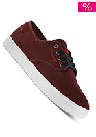 EMERICA Laced By Leo Romero burgundy/white