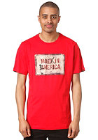 EMERICA Mad in Emerica S/S T-Shirt red