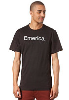EMERICA Pure 12 S/S T-Shirt black/white