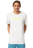 EMERICA Pure 12 S/S T-Shirt grey/yellow