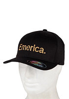 EMERICA Pure 6.0 Flexfit Cap black/gold