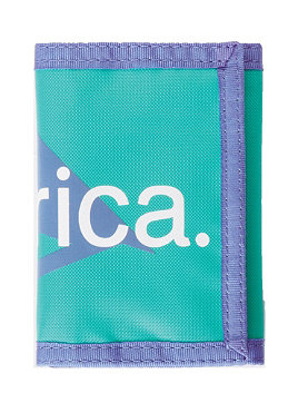 EMERICA Pure Over Triangle U.S. Wallet green