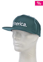 EMERICA Pure Snapback Cap dark teal