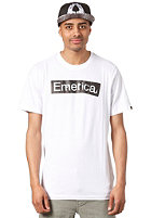 EMERICA Pure Sticker S/S T-Shirt white