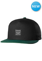 EMERICA Standard Issue Snapback Cap black/green