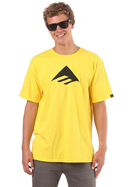 EMERICA Ste Smu Triangle 7.0 S/S T-Shirt yellow