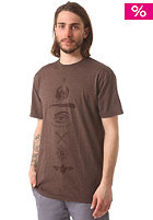 EMERICA Street Sleeper S/S T-Shirt brown heather