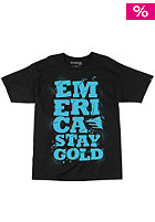 EMERICA Three Day Weekend S/S T-Shirt black/blue