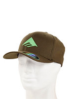 EMERICA Triangle 3.0 Flexfit Cap olive