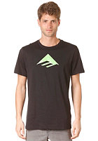EMERICA Triangle 7.0 S/S T-Shirt black/green