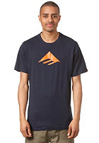 EMERICA Triangle 7.0 S/S T-Shirt navy/orange