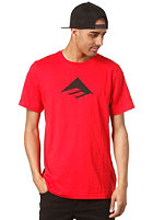 EMERICA Triangle 7.0 S/S T-Shirt red/black
