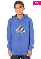 EMERICA Triangle Fill New F12 Hooded Zip Sweat blue