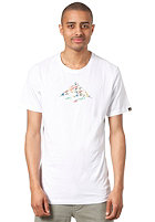 EMERICA Triangle Fill S/S T-Shirt white/print