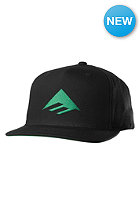 EMERICA Triangle Snapback Cap black