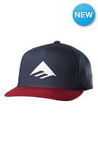 EMERICA Triangle Snapback Cap navy