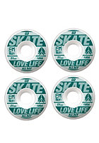 EMILLION Wheels Go Skate 51mm white/petrol