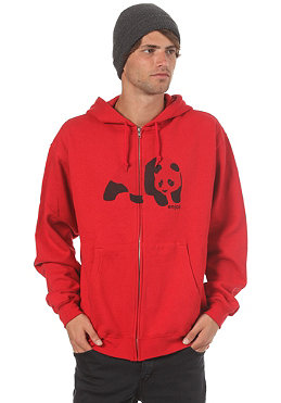 ENJOI Easy Panda Hooded Zip Sweat red