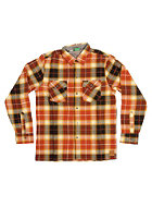 ENJOI Not Bad Plaid L/S Shirt orange