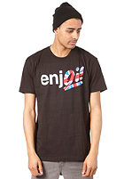 ENJOI Oi S/S T-Shirt black