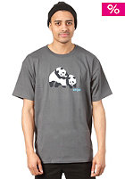 ENJOI Piggyback Panda S/S T-Shirt charcoal