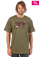 ENJOI Well Branded S/S T-Shirt military green