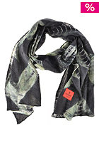 ERFURT Tiedye Soft Wool Printed Scarf black night