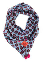 ERFURT Womens Pure Cotton Geo Print Scarf colony blue
