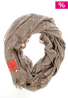 ERFURT Womens Silver Printed Scarf taupe