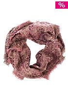 ERFURT Wool Jacquard Boucle Scarf beaujolais