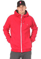 ES Cadet Hooded Zip Sweat red