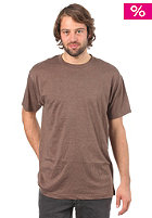 ETNIES Basic Crew Neck S/S T-Shirt brown/heather