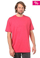 ETNIES Basic Crew Neck S/S T-Shirt red/heather