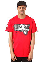 ETNIES Box S/S T-Shirt red