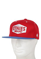 ETNIES Brand it Snapback Cap red