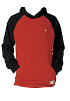 ETNIES Classic Fleece Hooded Sweat black/red