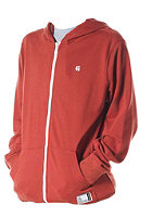 ETNIES Classic Fleece Hooded Zip Sweat rust