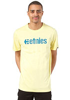 ETNIES Corporate 13 S/S T-Shirt light yellow