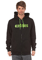 ETNIES Corporate Hooded Zip Sweat black/green