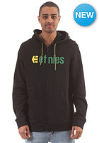 ETNIES Corporate Hooded Zip Sweat black/yellow