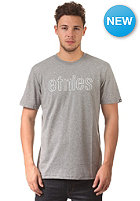 ETNIES Corporate Outline S/S T-Shirt grey/heather