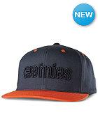 ETNIES Corporate Outline Snapback Cap orange